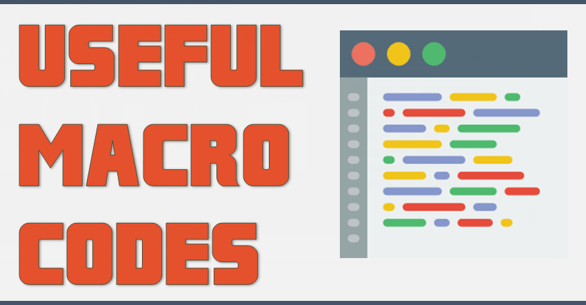 Top 100 Useful Excel MACRO CODES Examples [VBA Library] + PDF