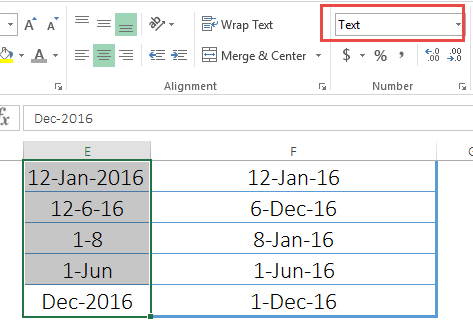 Excel datevalue function to convert text to date