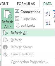 Refresh All Pivot Tables Manually With Single Click