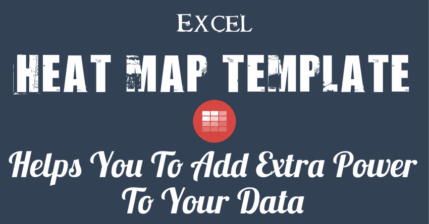 How to Create a HEAT MAP in Excel (Simple Steps) + Template
