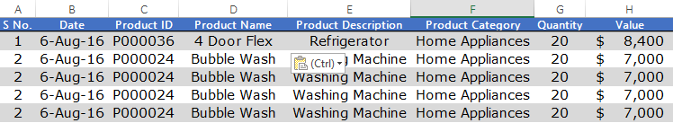 stock in sheet in excel inventory management template