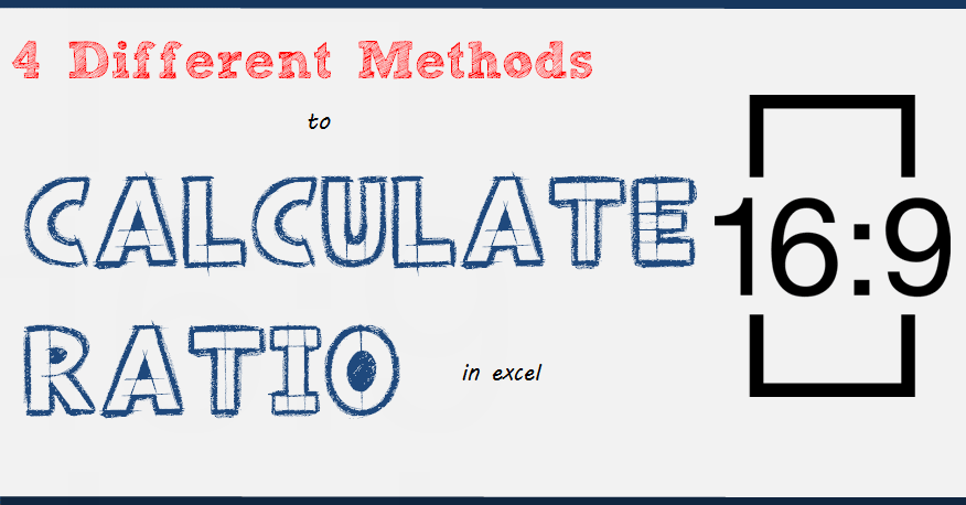 How to Quickly Calculate RATIO in Excel - Formula + Sample File