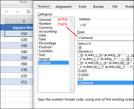 How to Calculate SQUARE ROOT in Excel [Top 5 Methods] + Add
