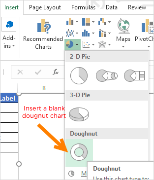 insert-a-blanl-dougnut-chart-to-create-a-speedometer-in-excel