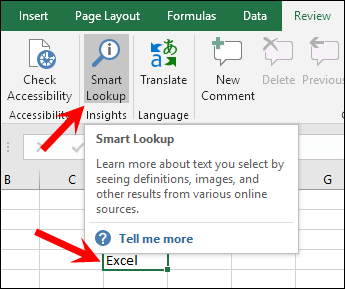 excel tips tricks smart lookup press button