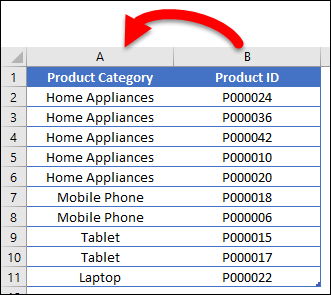 power query vlookup column needs to shift
