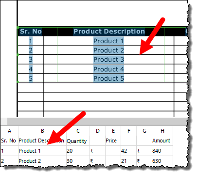 you have preview pane and edit window to convert a pdf file into an excel workbook