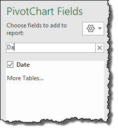 excel pivot table tips tricks to add fields through search bar