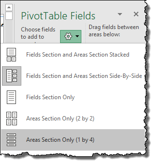 excel pivot table tips tricks to change field window style