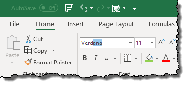 excel pivot table tips tricks to change font style for pivot tables