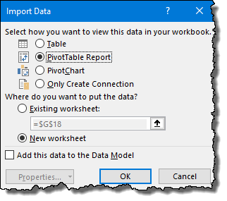 excel-pivot-table-tips-tricks-tocreat-pivot-table-using-power-uery-by-getting-data-from-a-web-link-add-url