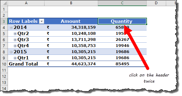 excel pivot table tips tricks to double click to open value field settings