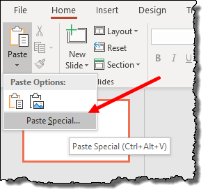 excel pivot table tips tricks to pivot table to powerpoint paste spcial