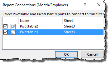 excel pivot table tips tricks to single slicer for all the pivot tables select
