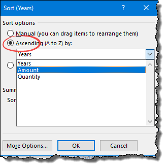 excel pivot table tips tricks to sort items according to a corresponding value open select