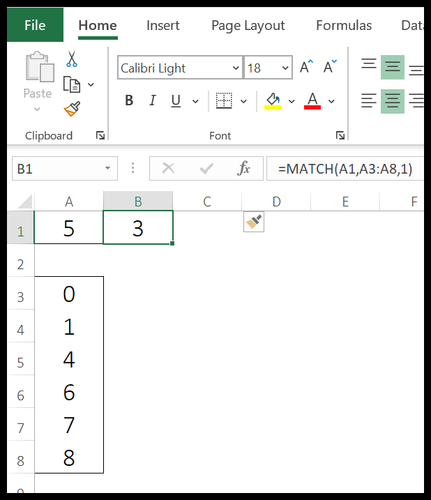 excel-match-function-example-1