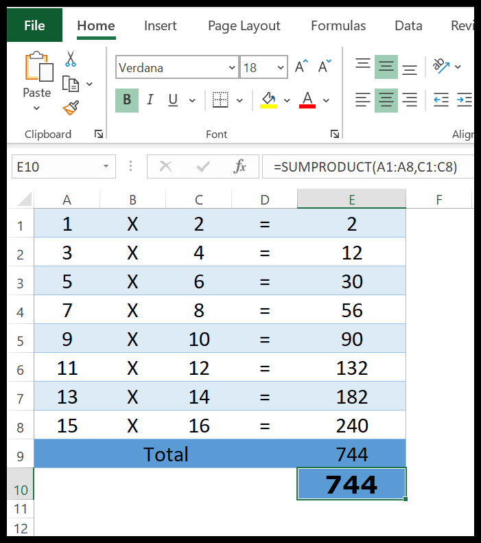 excel-sumproduct-function-example-1