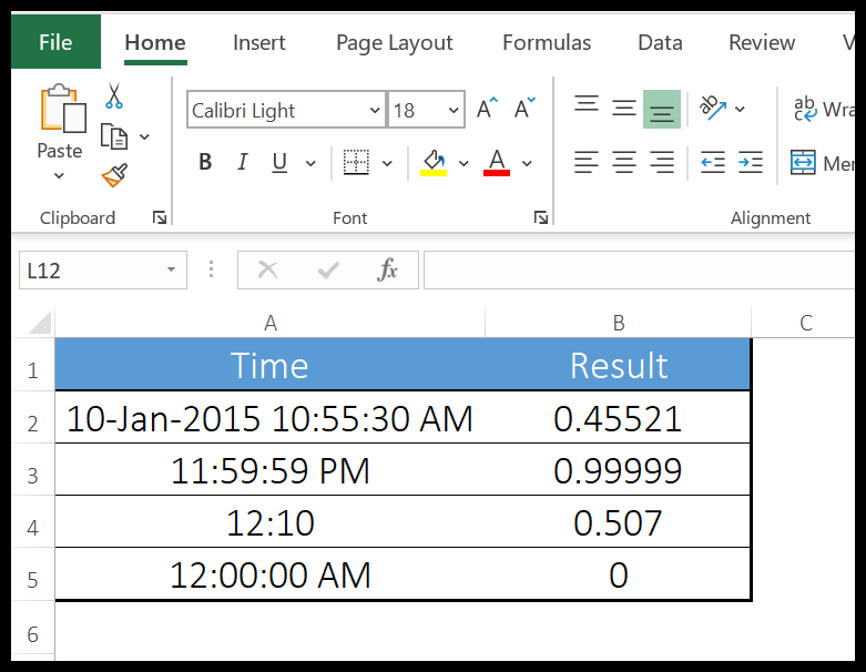 excel-timevalue-function-example-1