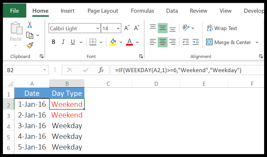 excel-weekday-function-example-2