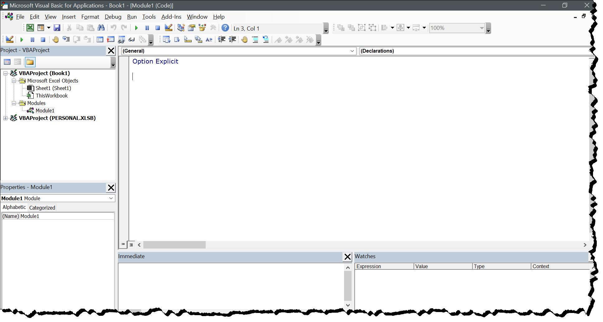 window-excel-visual-basic-editor