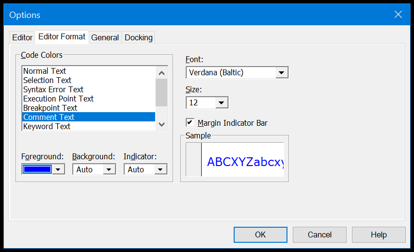 change-format-of-the-vba-comment