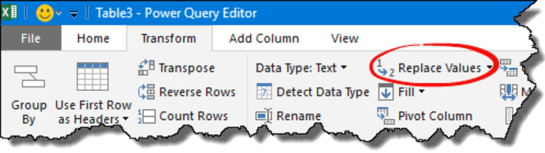 excel power query tips tricks replace name value open editor
