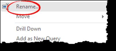 excel power query tips tricks rename column