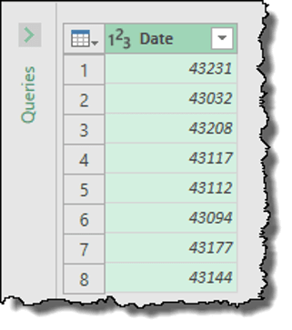 excel power query tips tricks change data type date serial numbers