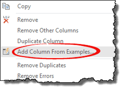 excel power query tips tricks add column click