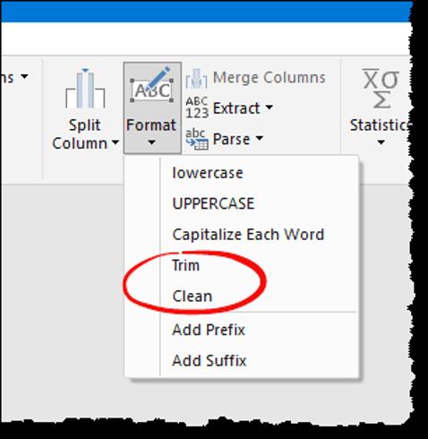 excel power query tips tricks add prefix suffix